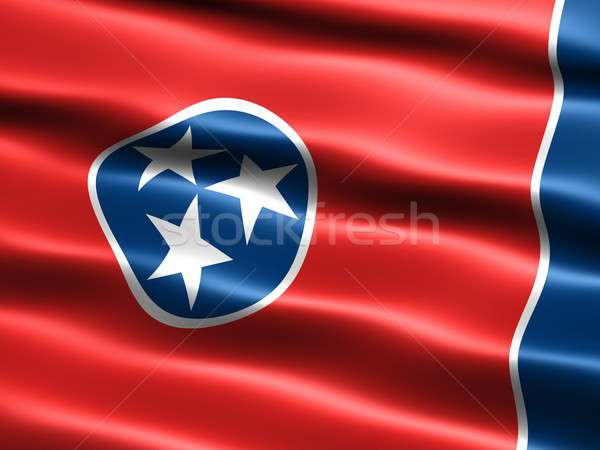 Flag of the state of Tennessee Stock photo © bestmoose