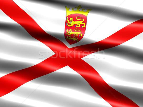 Flag of Jersey Stock photo © bestmoose