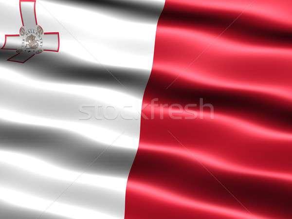 Flag of Malta Stock photo © bestmoose