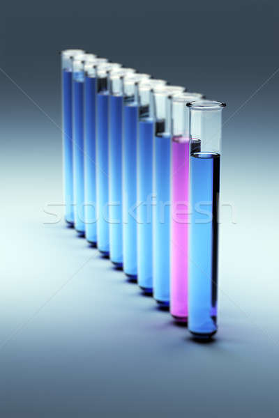 Test tubes Stock photo © bestmoose