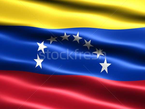Flag of Venezuela Stock photo © bestmoose