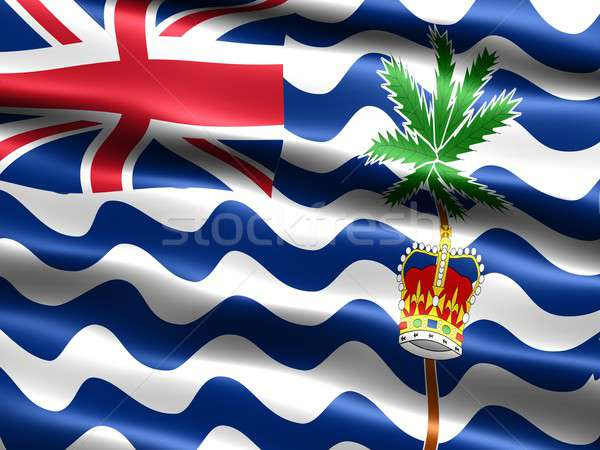 Bandiera britannico indian Ocean territorio Regno Unito Foto d'archivio © bestmoose