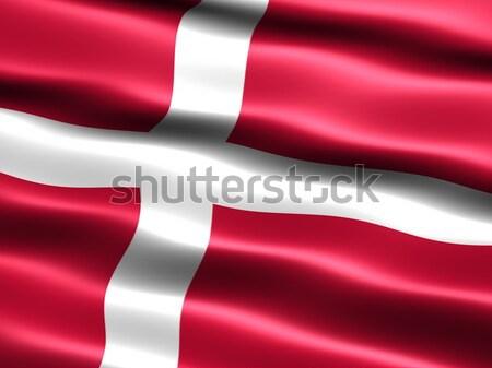 Flag of Denmark  Stock photo © bestmoose