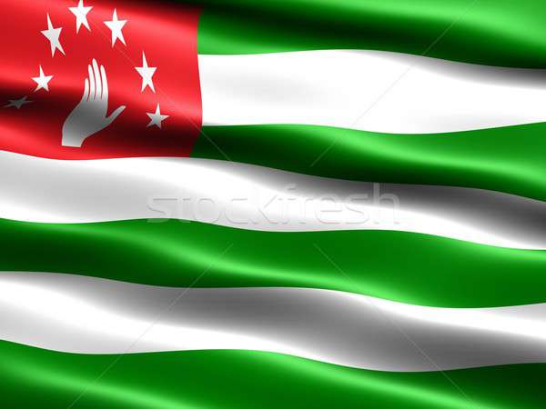 Flag of Abkhazia Stock photo © bestmoose