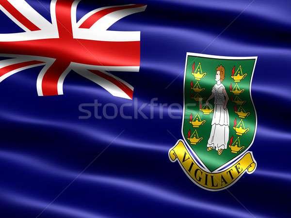 Flag of the British Virgin Islands Stock photo © bestmoose