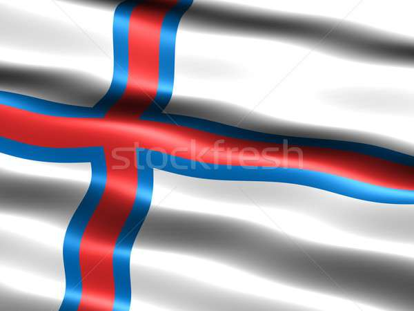 Flag of the Faroe Islands Stock photo © bestmoose