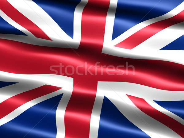 Flag of the United Kingdom Stock photo © bestmoose