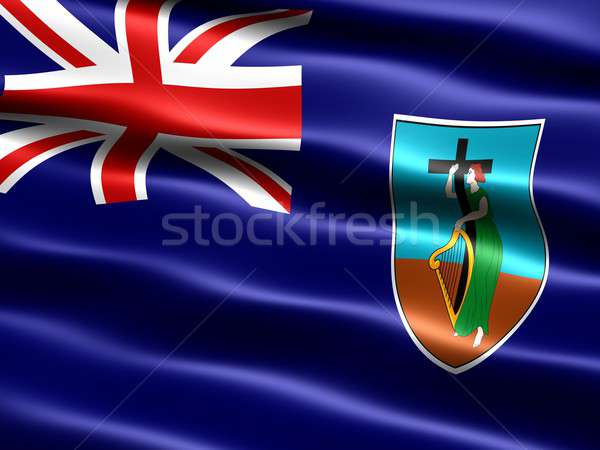 Flag of Montserrat Stock photo © bestmoose