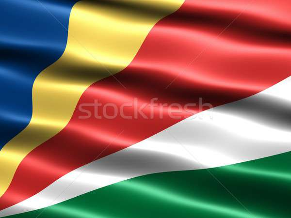 Stock photo: Flag of Seychelles