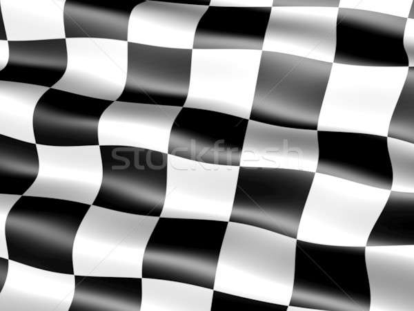 Bayrak bilgisayar oluşturulan ipeksi Stok fotoğraf © bestmoose