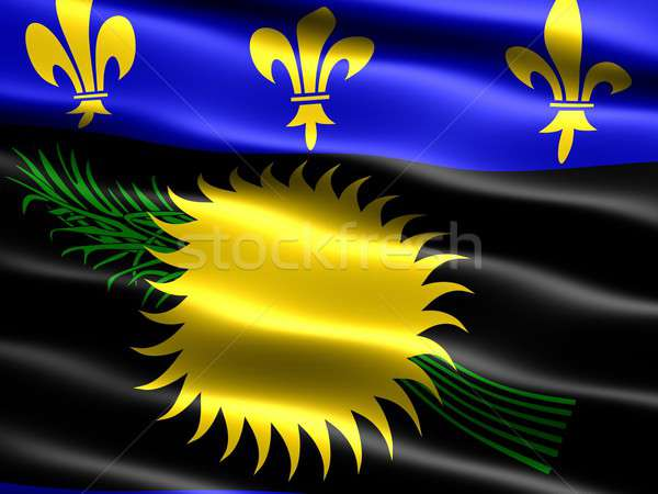 Flag of Guadeloupe Stock photo © bestmoose