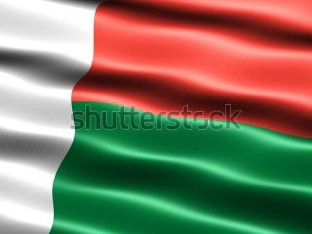 Flag of Madagascar Stock photo © bestmoose