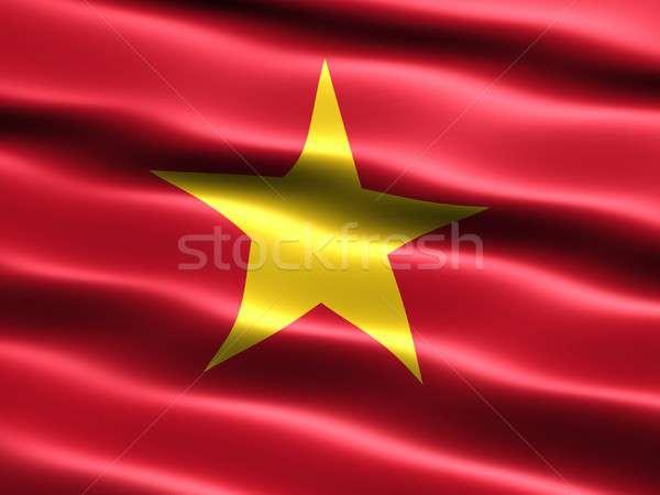 Flag of Vietnam Stock photo © bestmoose