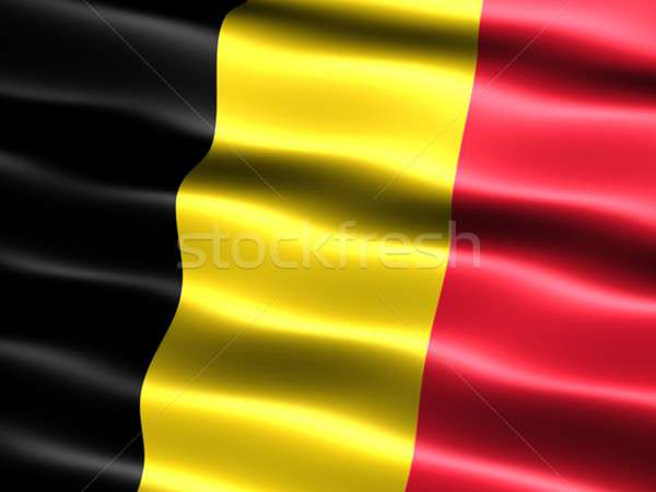 Flag of Belgium Stock photo © bestmoose
