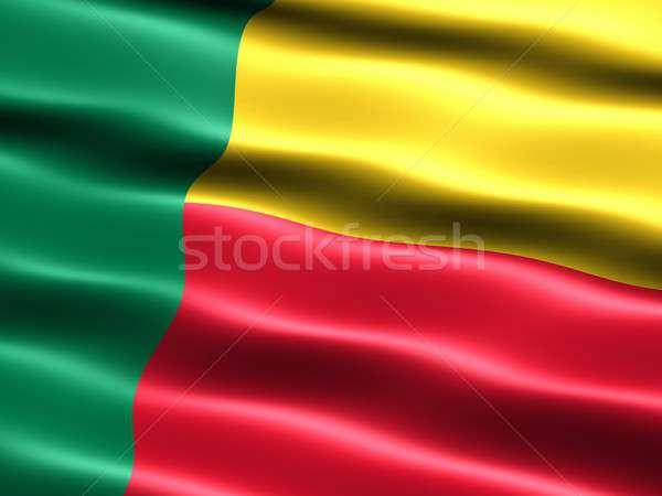 Flag of Benin Stock photo © bestmoose