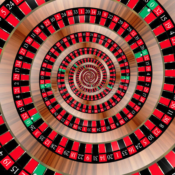 Roulette spiralling down Stock photo © bestmoose