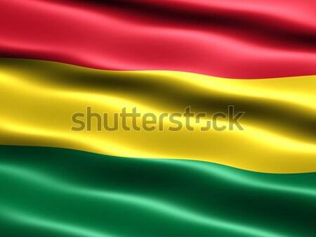 Flag of Bolivia Stock photo © bestmoose