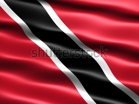 Flag of Trinidad and Tobago Stock photo © bestmoose