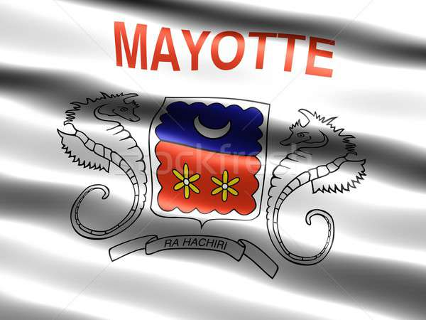 Flag of Mayotte, unofficial Stock photo © bestmoose