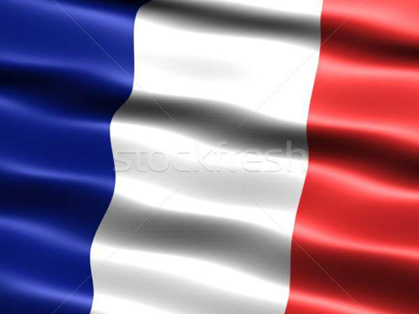 Flag of France  Stock photo © bestmoose
