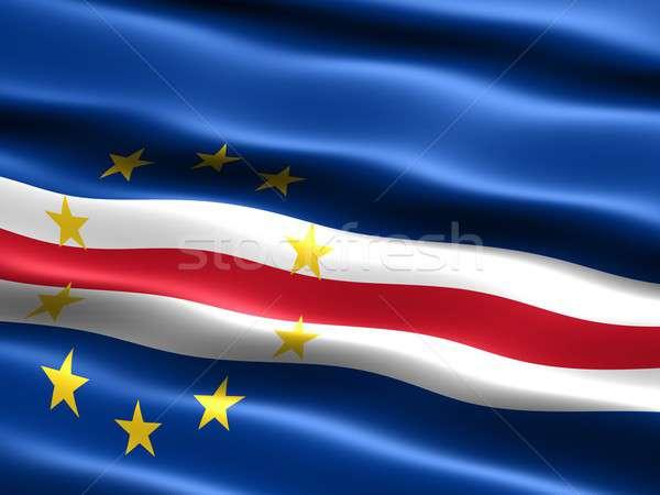 Stock photo: Flag of Cape Verde