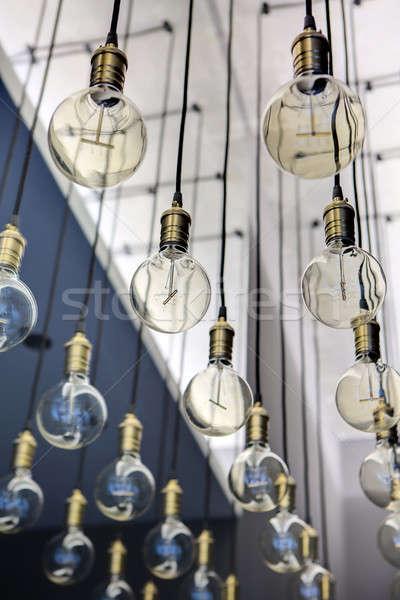 Edison lamps Stock photo © bezikus