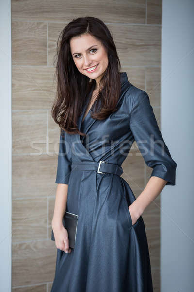 Business portrait of an attractive girl Stock photo © bezikus