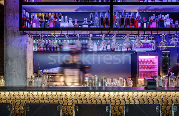 Bar in modern style Stock photo © bezikus