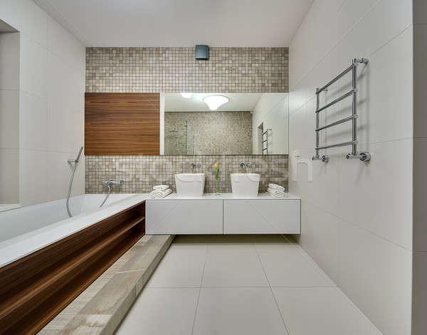 Bathroom in a modern style Stock photo © bezikus
