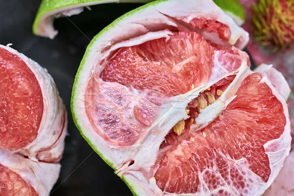 Tasty ripe pomelo Stock photo © bezikus
