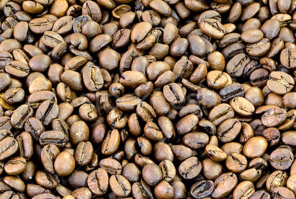 roasted coffee beans Stock photo © bezikus