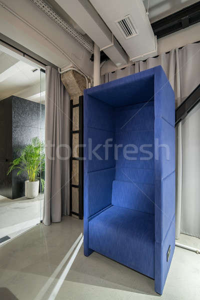Stylish office in loft style with relax zone Stock photo © bezikus