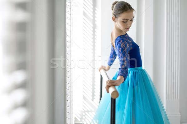 Zdjęcia stock: Baleriny · szkolenia · dość · balet · ręce