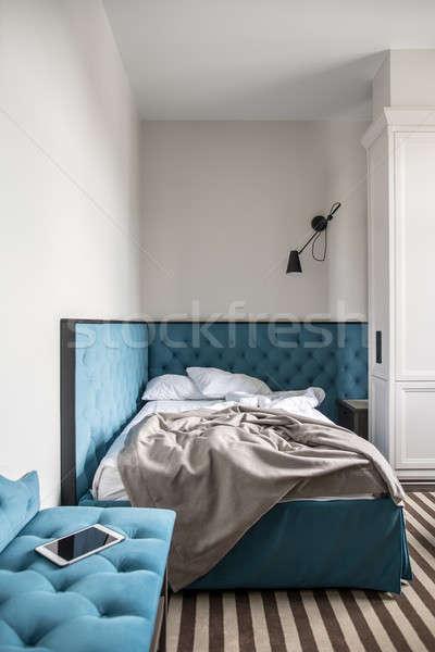Stock fotó: Gyönyörű · hotelszoba · elegáns · szoba · hotel · fény