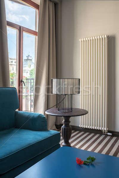 Stylish hotel room Stock photo © bezikus