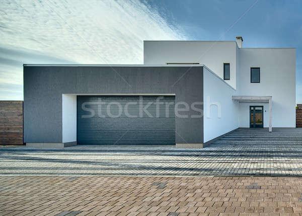 Country house in modern style Stock photo © bezikus