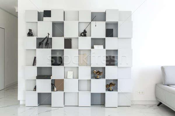Foto stock: Interior · estilo · moderno · branco · paredes · luz · azulejos