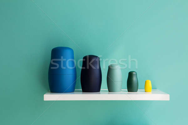 Figures toy matryoshka made in a modern style Stock photo © bezikus