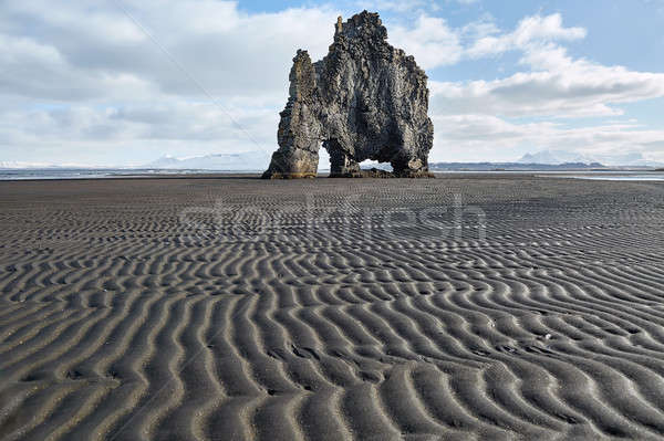 Hvitserkur basalt formation Stock photo © bezikus