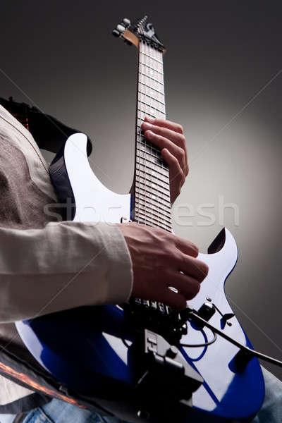 electric guitar Stock photo © bezikus