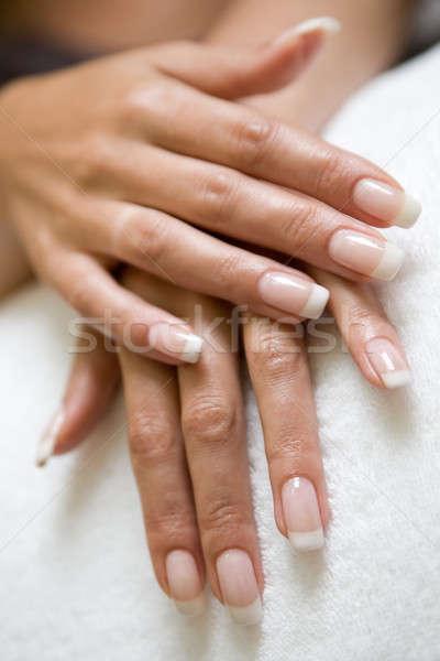 womans hand Stock photo © bezikus