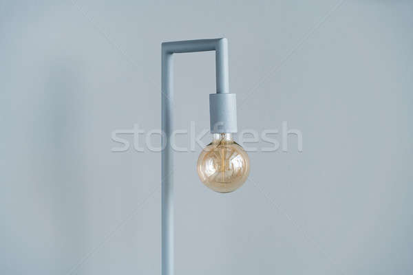 Gray edison lamp  Stock photo © bezikus