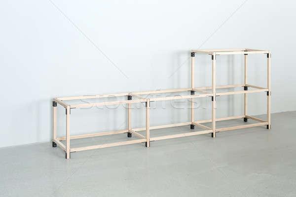 Light wooden construct  Stock photo © bezikus