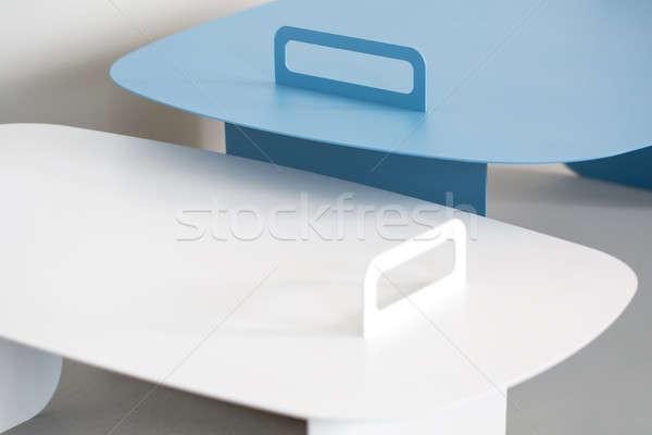 Stylish metal stands Stock photo © bezikus