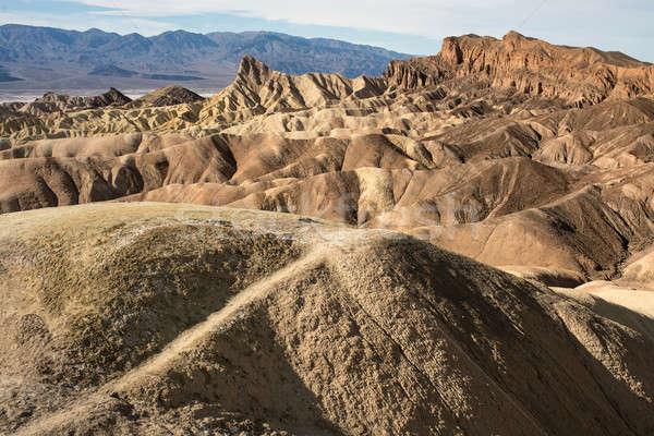 Belo paisagem vermelho rocha desfiladeiro EUA Foto stock © bezikus