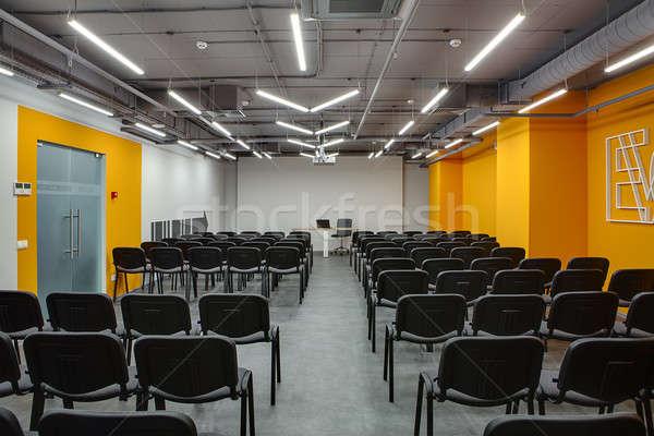 Modern conference hall Stock photo © bezikus