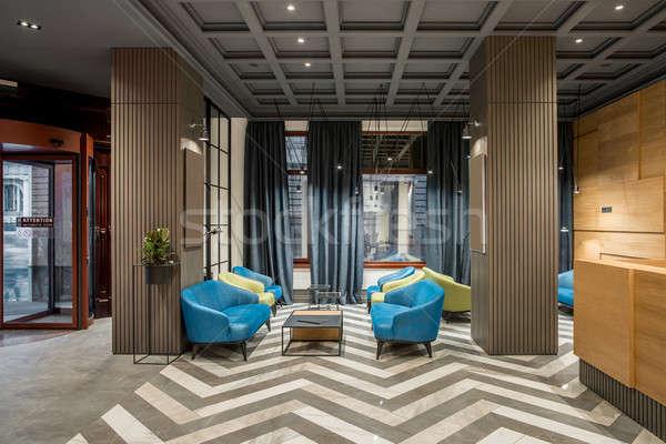 интерьер отель красивой прихожей Сток-фото © bezikus