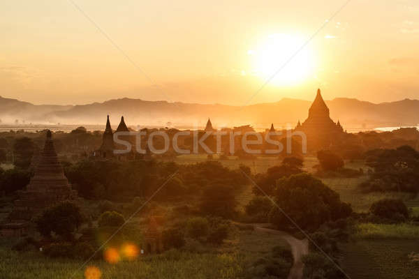 Asia sunset Stock photo © bezikus