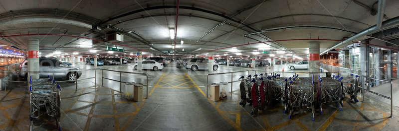 Car park Stock photo © bezikus