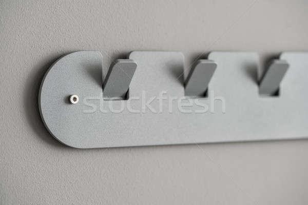金属 グレー ハンガー メタリック 色 ストックフォト © bezikus